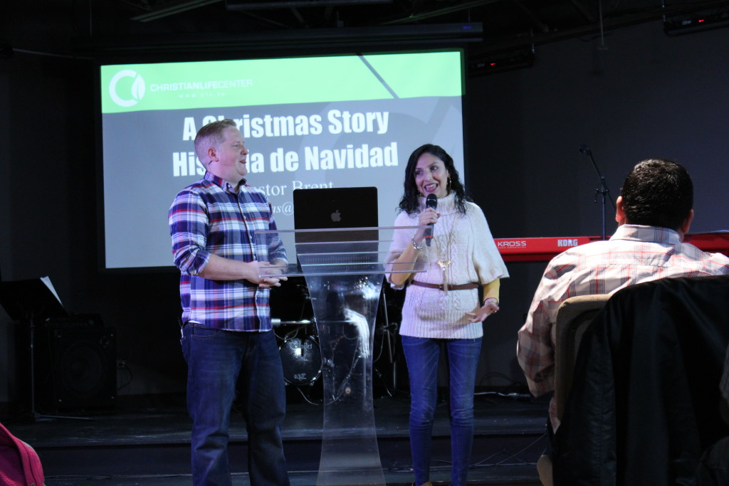 "Pastors Brent & Sol brought a message from the movie, ""Christmas Story"" that connected well & one person prayed to receive Christ & some other new families responded as well!"