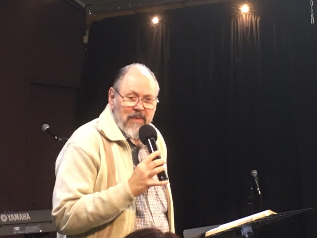 The final teaching of the morning came from our friend, Daniel Juster, Director of the Tikkun network of ministries, our primary partner in the Land.