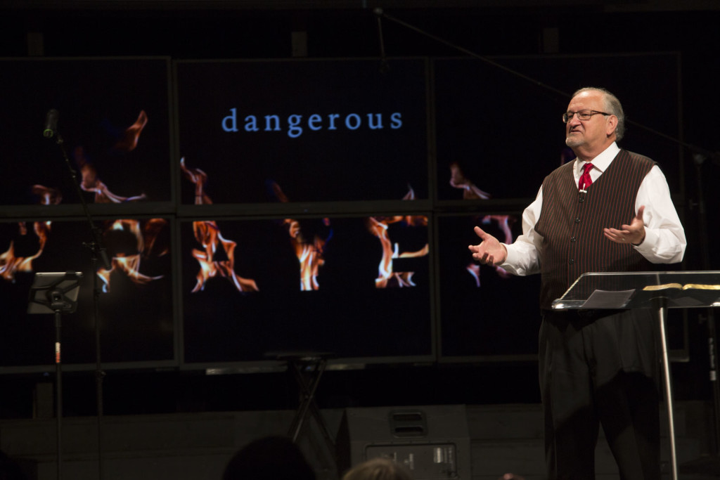 """Search Me"" seemed to be a great Kick-Off to ""Dangerous Prayers"" series - last night and at each campus today"