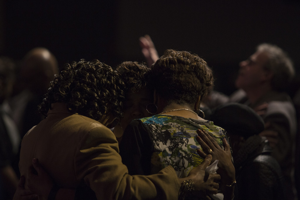 I love our prayer ministers & the fact that anyone can receive prayer at any service!