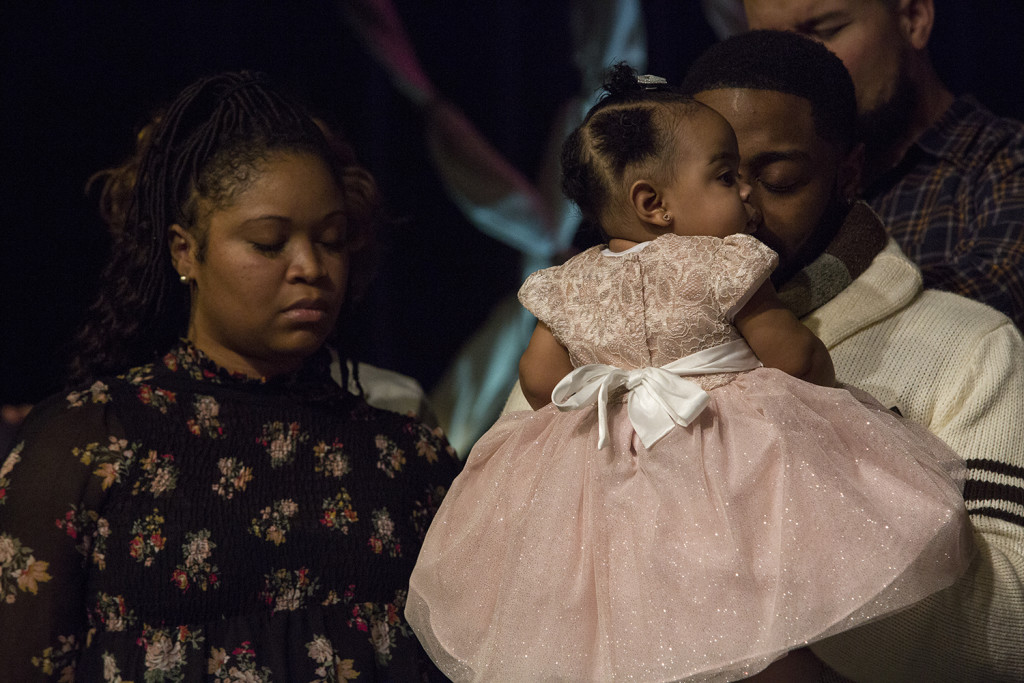 Baby dedications are always special at CLC - congrats, LaGenia Thompson & Laiyah!
