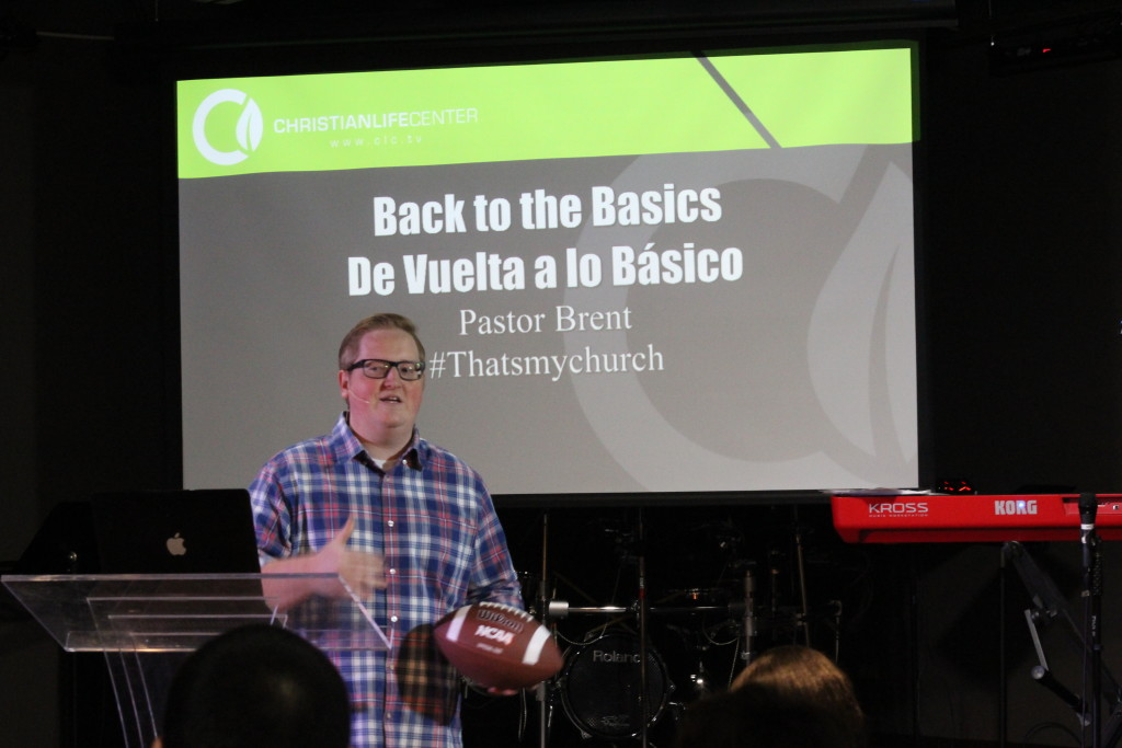 "Pastor Brent used the Vince Lombardi story in ""Back to the Basics"", too"