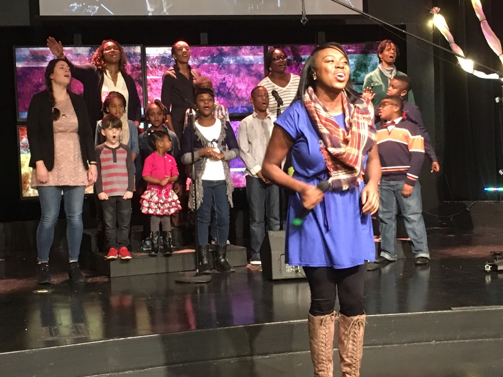 Loved having children of our praise team worship onstage for Family Sunday!