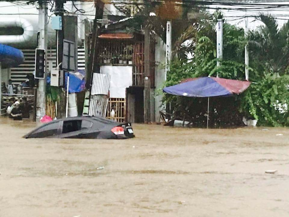You heard us mention the flooding last week - this is Cagayan de Oro in northern Mindanao