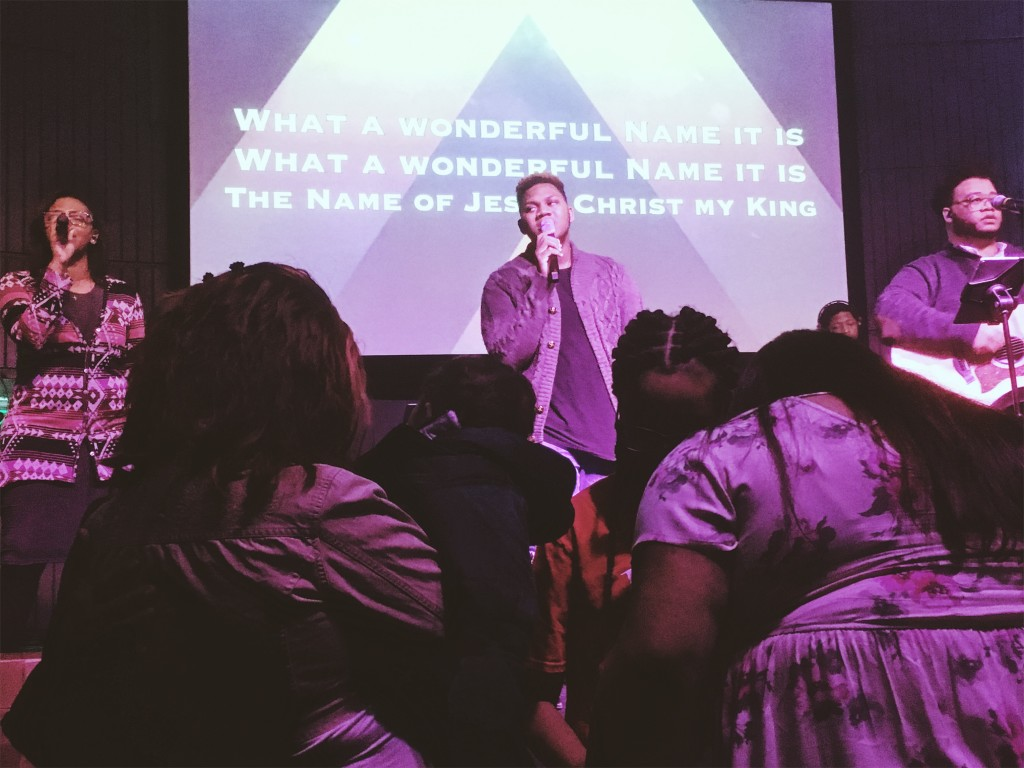 """Pastor Sam says NWI set a new attendance record for a """"non-event"""" Sunday & worship felt like a big family party!"""