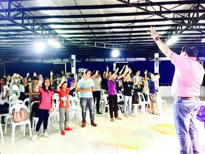 Our CLC congregation in Tagum, Mindanao today