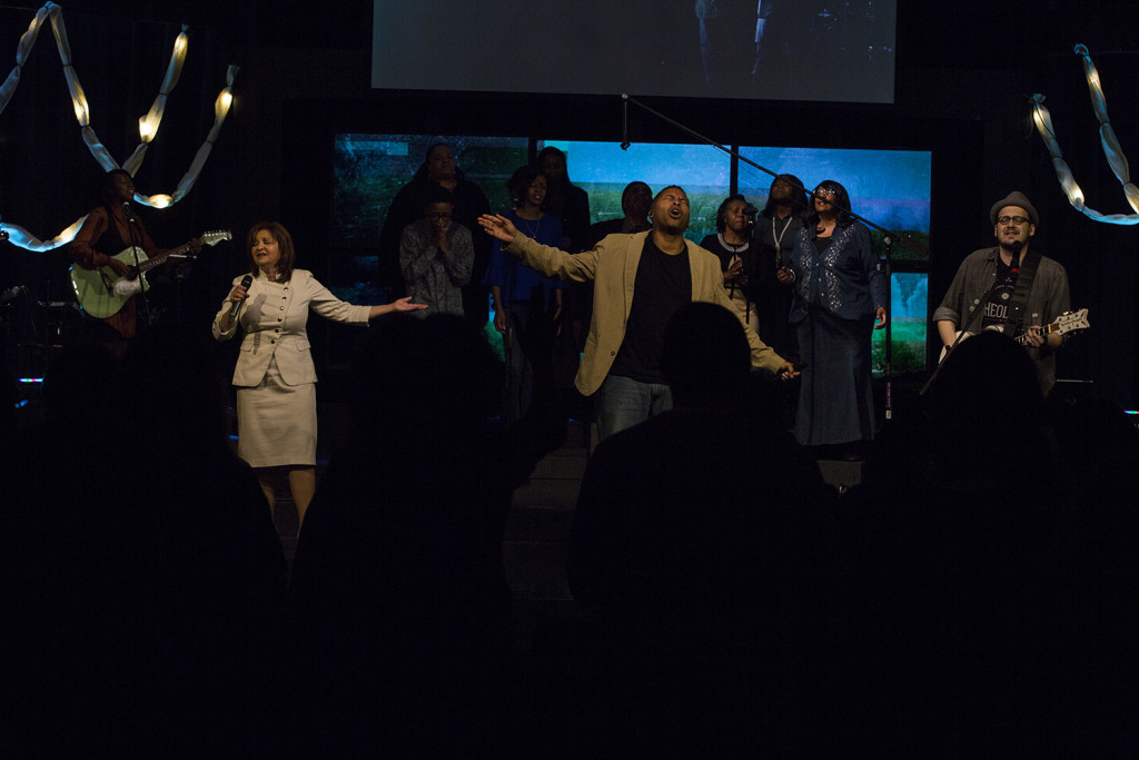 One reason for the awesome Presence today is the way our Life Worship team led us INTO His Presence!