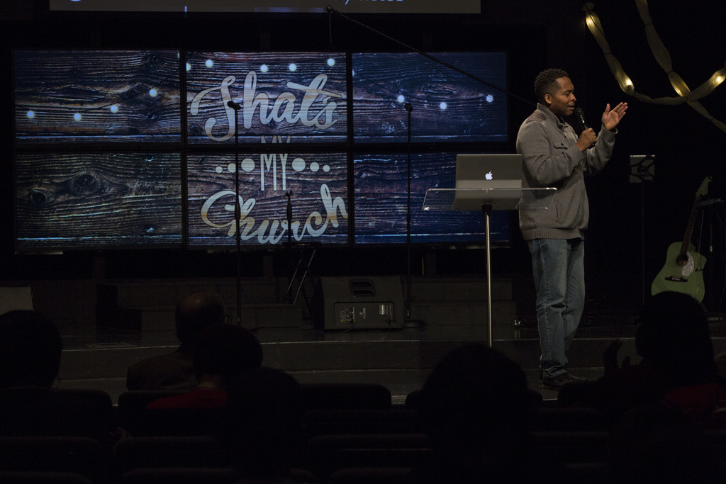 "Worship Pastor Jon Jones showed us today that he can do more than 'sang' - he knocked it out of the park with ""Inclusion"" to close our 'That's MY Church' series!"