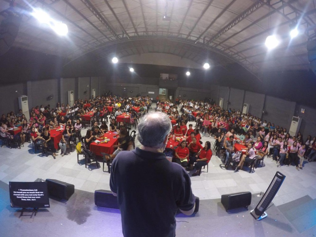 Tonight Pastors Herley & Nelly 'presented' to us their top 288 leaders, who are ALL soul-winners & disciple-makers! This is what it looked like from the pulpit - I'm sure you'll agree that it was an AWESOME sight for any pastor to see!