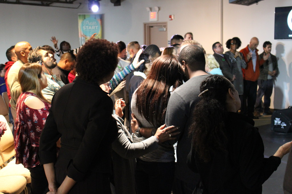 Afterward, many people were indeed touched by the power of the Holy Spirit!