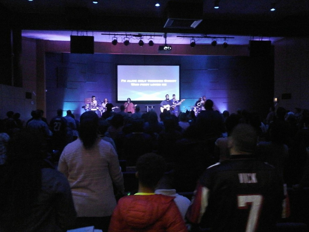 Pastor Sam reports a great day of worship at NWI-