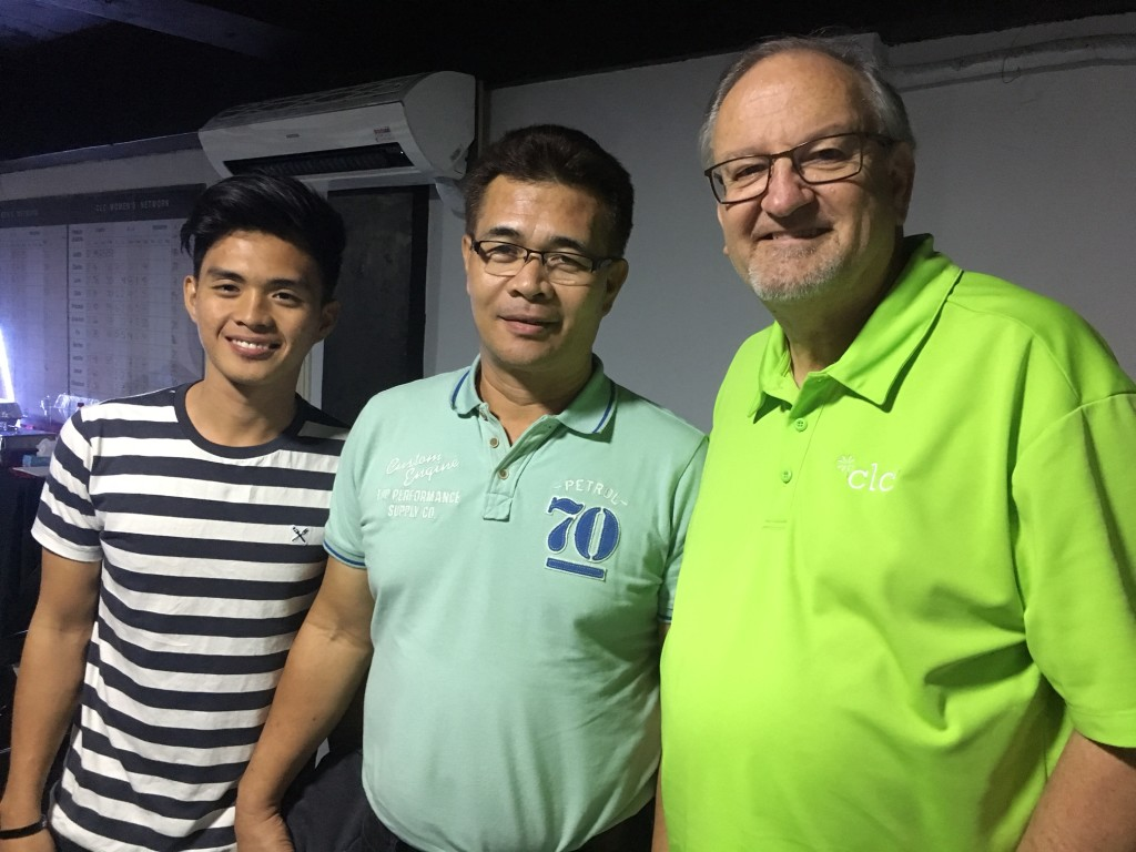 We got to meet the 2 newest CLC churches in Mindanao (bringing us to a total of 15!) This is Pastor Al Montano & his son Dale from Koronadal-