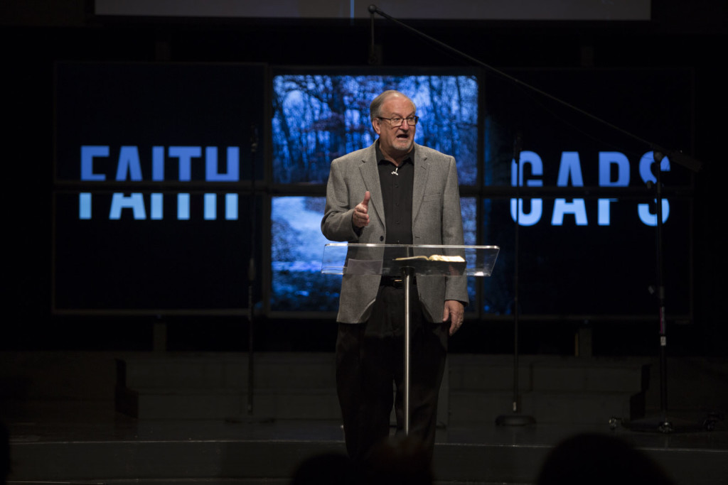"""and I definitely had more fun than you're supposed to have while preaching - I'm loving this new """"Faith Gaps"""" series already!"""