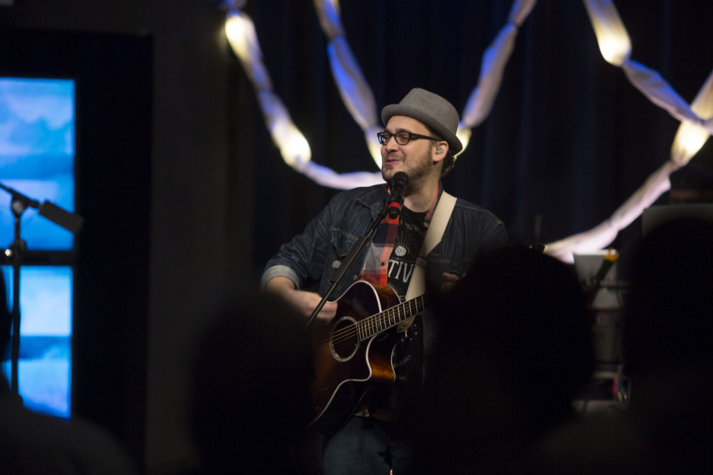 Tinley Park Worship Director Harmony LaBeff introduced a new song that will be featured this Easter.