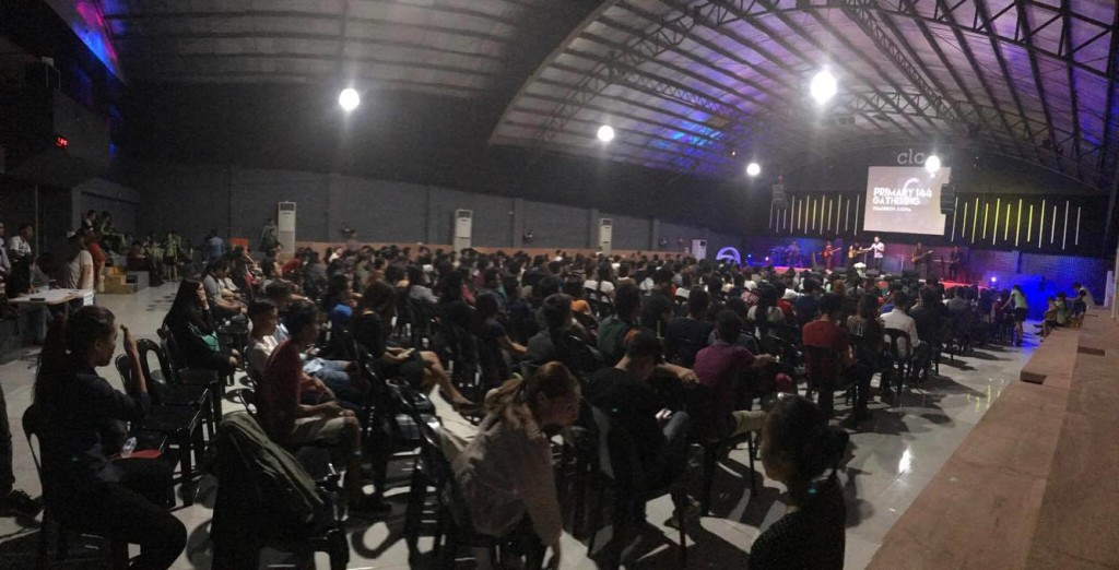 Pastor Herley contacted me to say that all 4 services at our Davao City campus were jam-packed today & even better, the awesome Presence of God filled the house in each service!