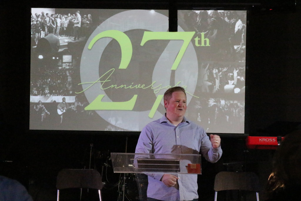 Today is CLC's 27th Anniversary - while we didn't take time to celebrate in service, I'm thankful for the hundreds of people God has brought to us in across 19 different locations (6 in Chicagoland; 13 in the Philippines) since that opening day at Tinley Park High School on the last Sunday of March, 1990! Truly God is good, all the time!