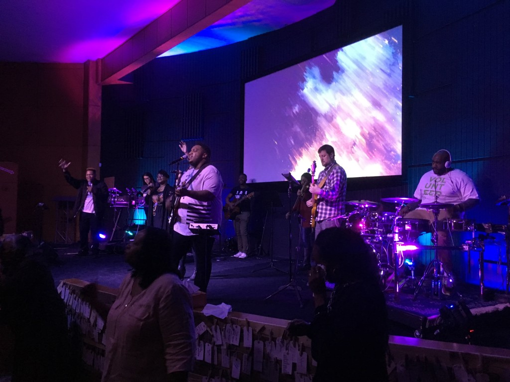 But today's prize goes to our Hammond campus, where attendance continues to grow; CLC favorite Dee Wilson returned to lead a powerful time of worship, and the church family gave generously to send two students on a missions trip to Panama!