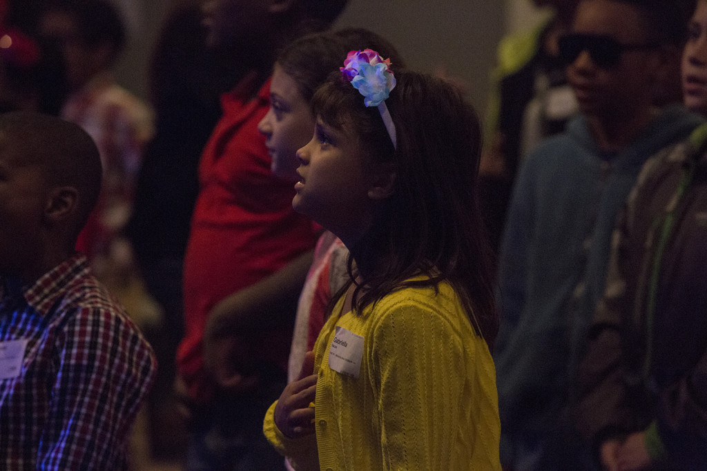 I LOVE the fact that our children are learning to worship Jesus! Kudos to every KidsLife volunteer!