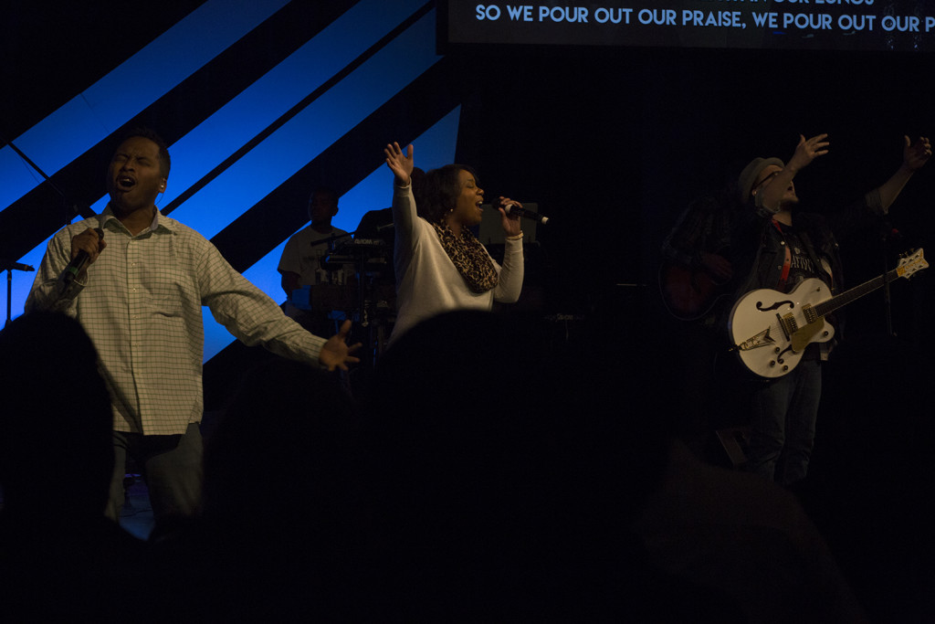 Boy, something broke as we closed worship at the noon service & the Presence of God was overwhelming!