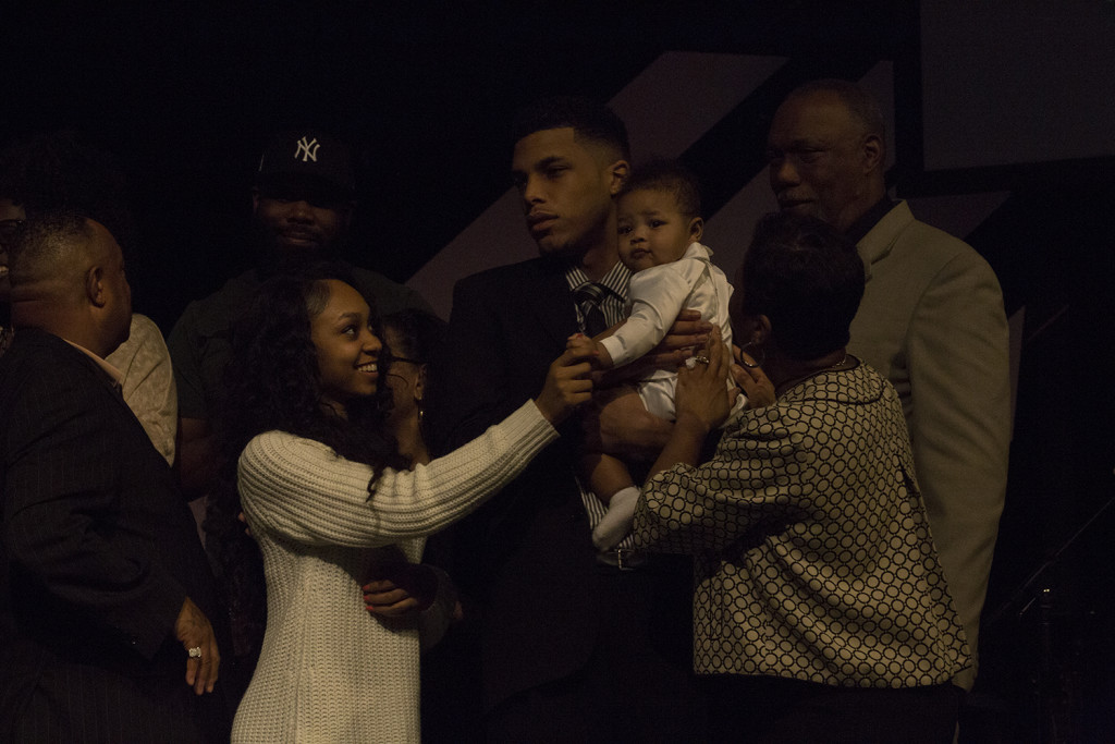 Baby dedications are always special....