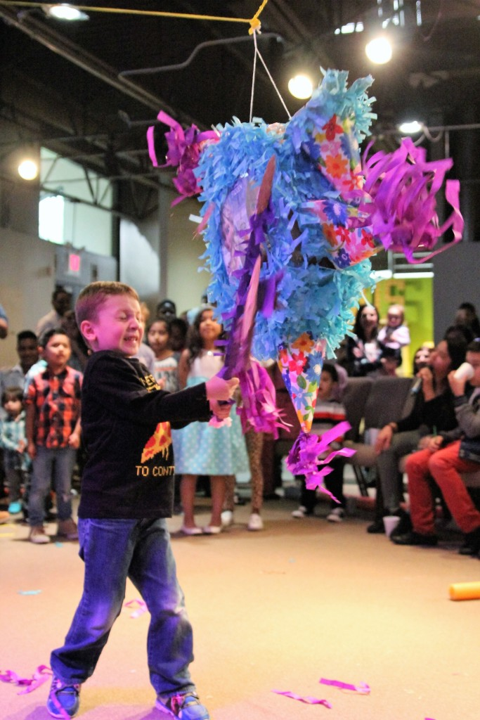 And there were even a couple of pinata's at the end!