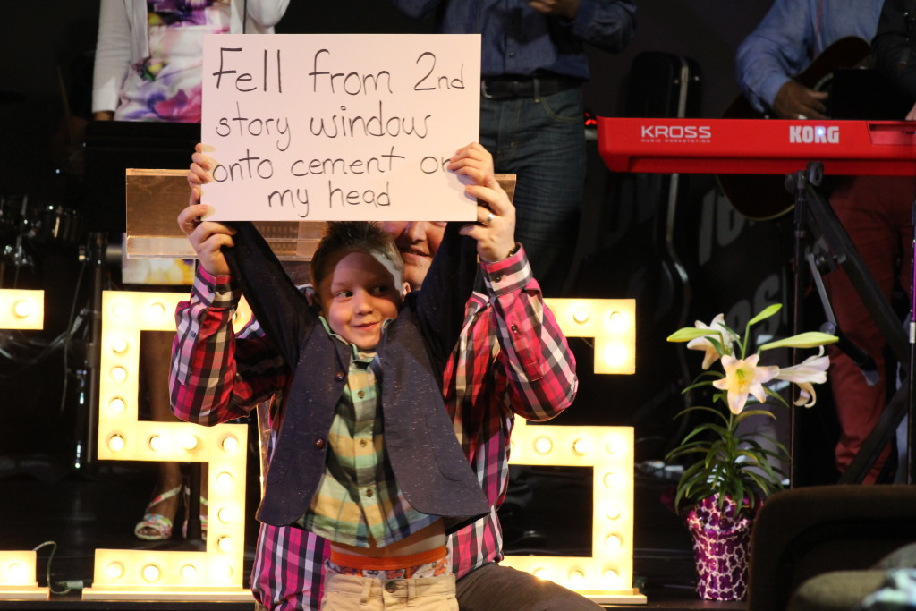 I admit I'm prejudiced, but this was my favorite of all the cardboard testimonies