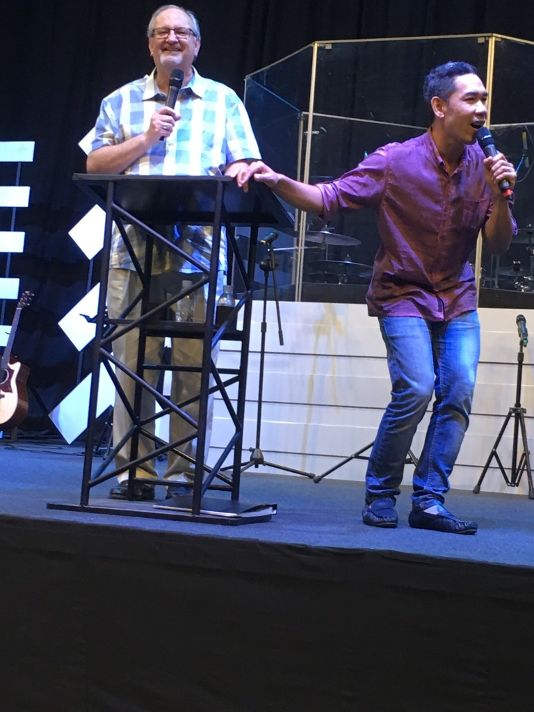 Preaching at New Life is always a joy, and Pastor Samnang does a great job translating for us!