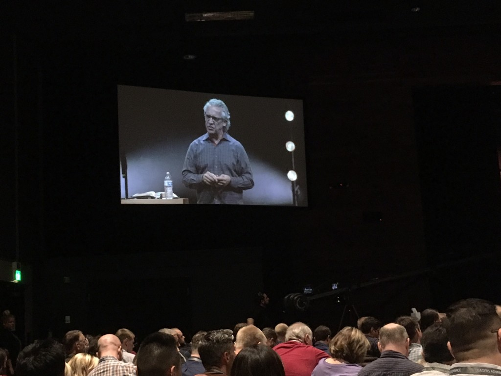 Bill Johnson's session this morning was worth the cost of coming here - amazing insights in his teaching!