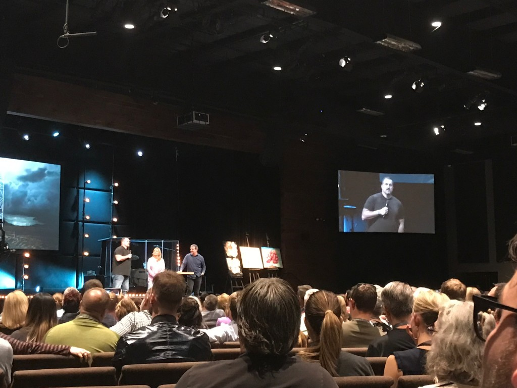 I had no idea what to expect when Kris Vallotton called Ron & Dawn to the stage to share their testimony