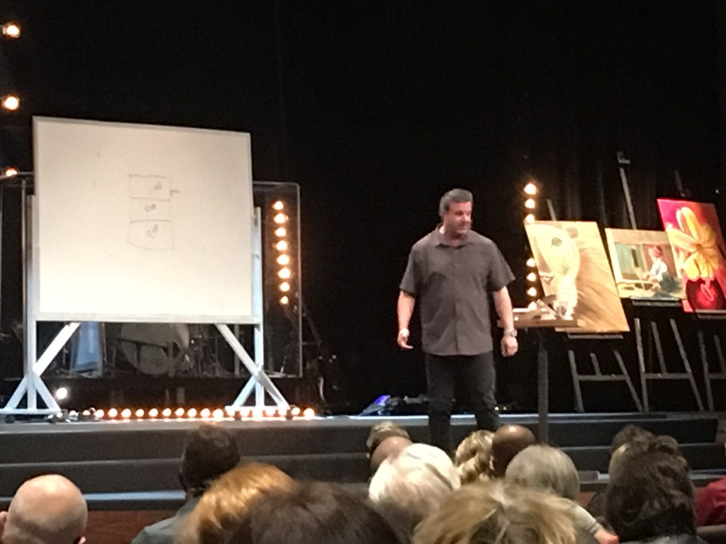 For ME personally, Kris Vallotton's teachings were the highlights of the conference. His 'prophetic roundtable' teaching this morning about raising our children in a prophetic environment was priceless!