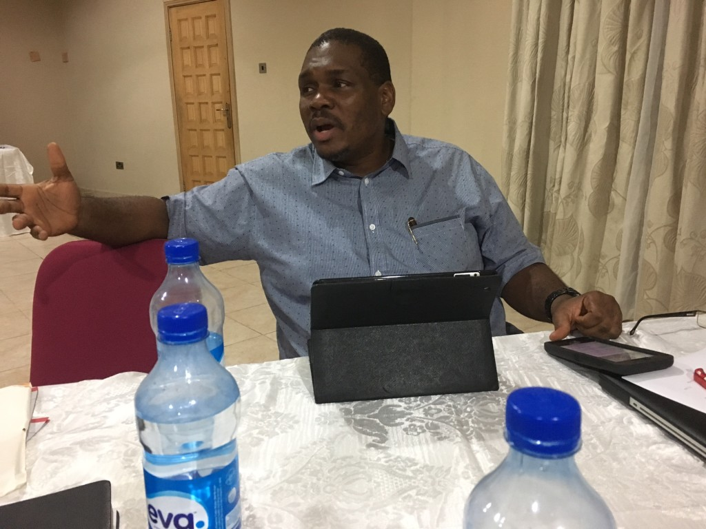 Our committee includes men from South Sudan, South Africa, Cote D'voire and the International Office here in Lagos.  I'm excited that one of those IO officials, Chinedu Oranye, pictured here, will be a guest speaker during our Missions Emphasis series at CLC this October!