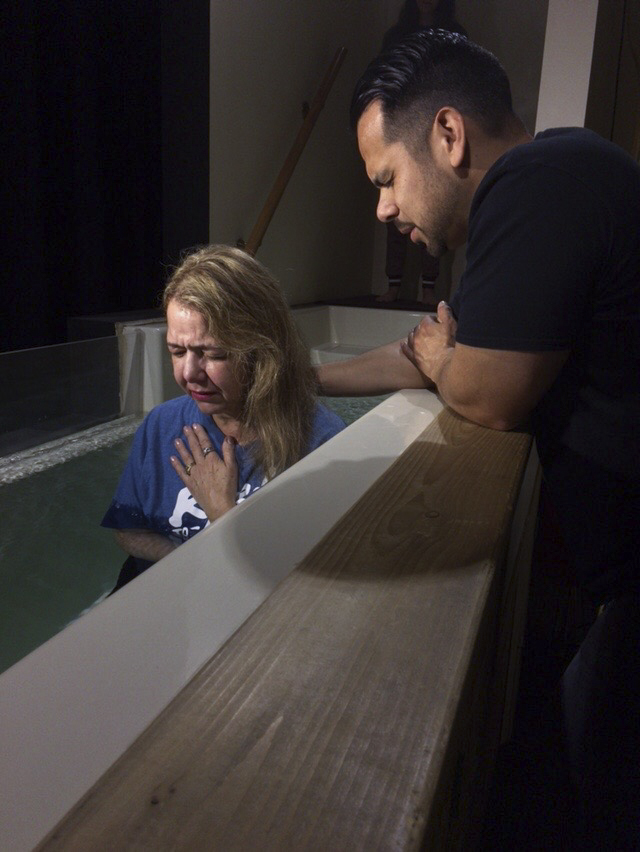 Palm Sunday baptisms: (3) Thelma Haffner