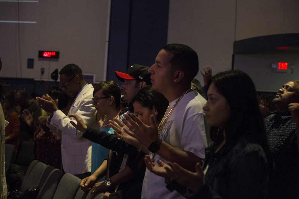 And I LOVE seeing FAMILIES worship Jesus together!