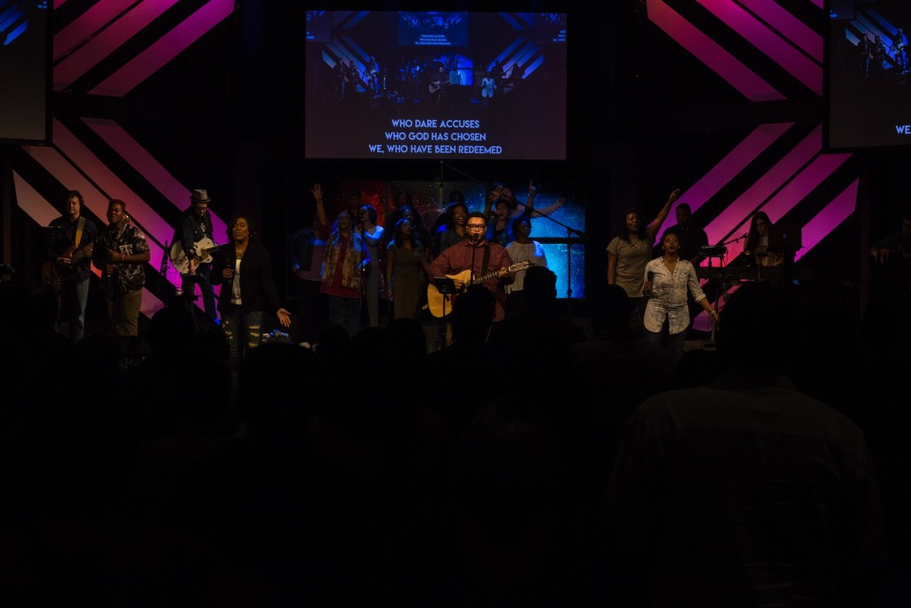 Our Hammond campus served as great hosts, providing front-line worship singers & musicians (with backup from Tinley Park), as well as KidsLife and First Touch ministries - kudos Pastor Sam & all your team!