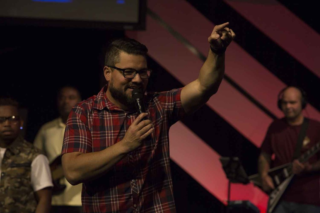 Our GIFTED series is showing up in many ways - Pastor Josh gave a prophetic word while hosting today