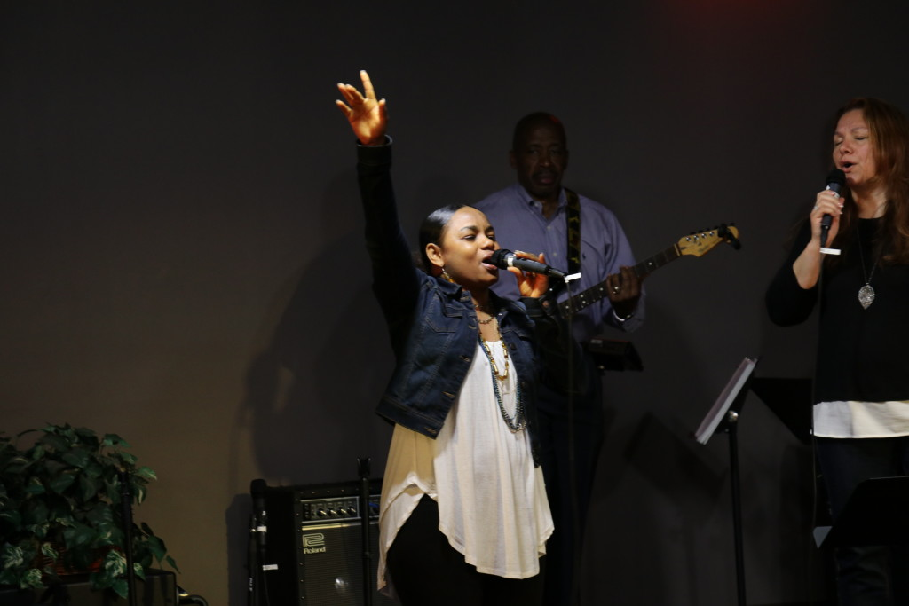 Anita Winters is just one of our passionate worshipers at our Blue Island campus!