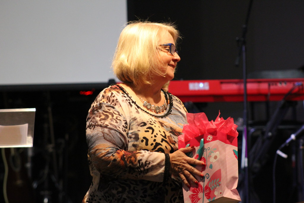 """My wife ministered at the Blue Island campus on the same topic of """"The Gift"""""""