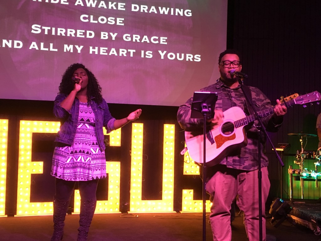 Our Hammond campus went into His Presence with the help of this Praise team!