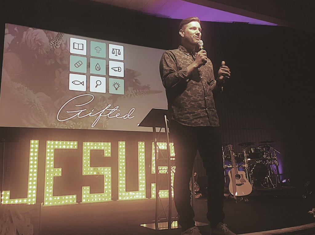Plus Pastor Sam said the message connected well & lots of people received prayer for healing today - that's a win in my book, holiday or no holiday!