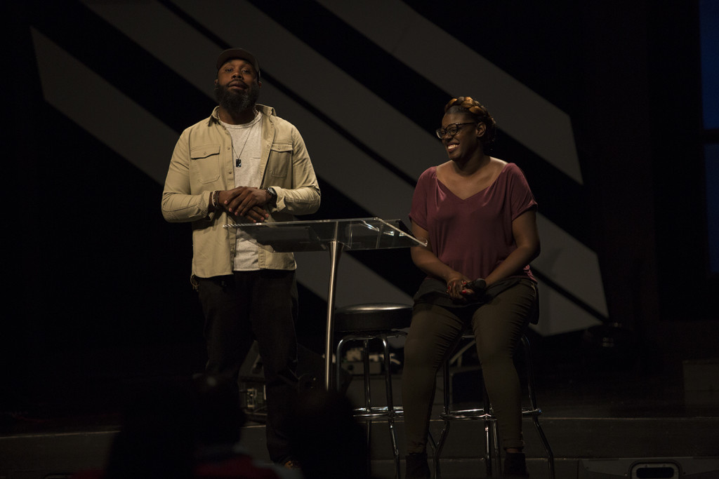 Chuck & Nicole Ellington delivered a great Word at the noon service!