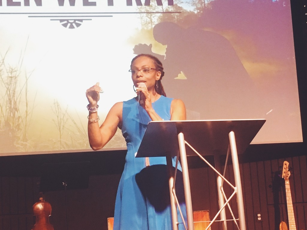 Dorothy Caldwell brought a good Word about the power of prayer!