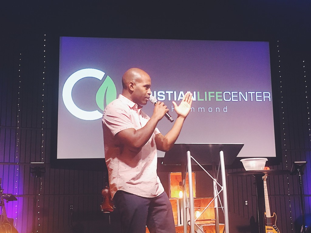 Christian Washington taught on the process of being repurposed to be more like Christ!