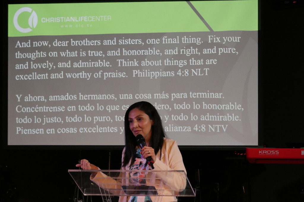 Pastor Sol brought the message in Blue Island today & was able to share about the team that just returned from Siberia-