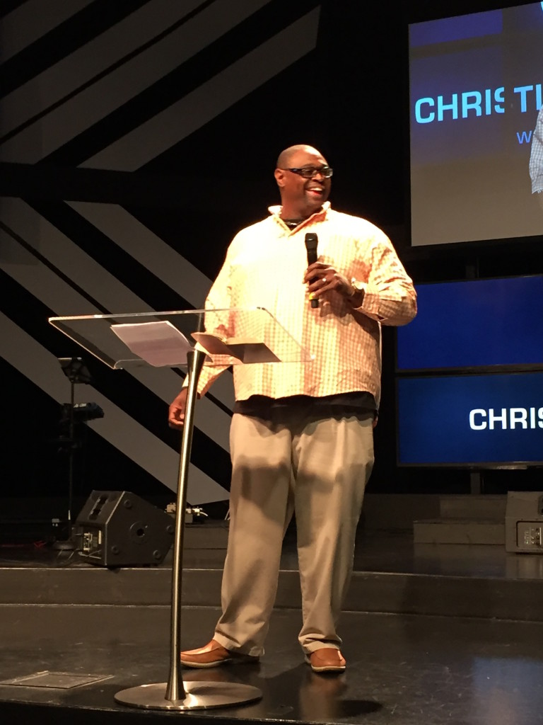 """Cary Durham brought the 1st message of the day at the 8:30 service & told us all that GOD said we are """"good seed""""!  (We don't have to listen to the enemy, because as Reggie Jackson observed, """"Fans don't boo nobodies!"""""""