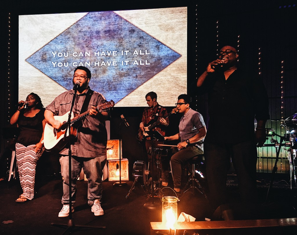 Plus the Worship & Arts team unveiled a new stage design and led the people into God's Presence-