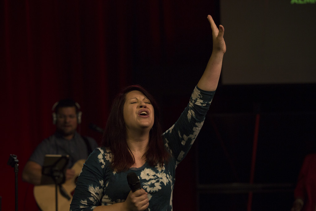 Speaking of worshippers, our CLC-West campus pastors, Josh & Heather Moran, are passionate, too!