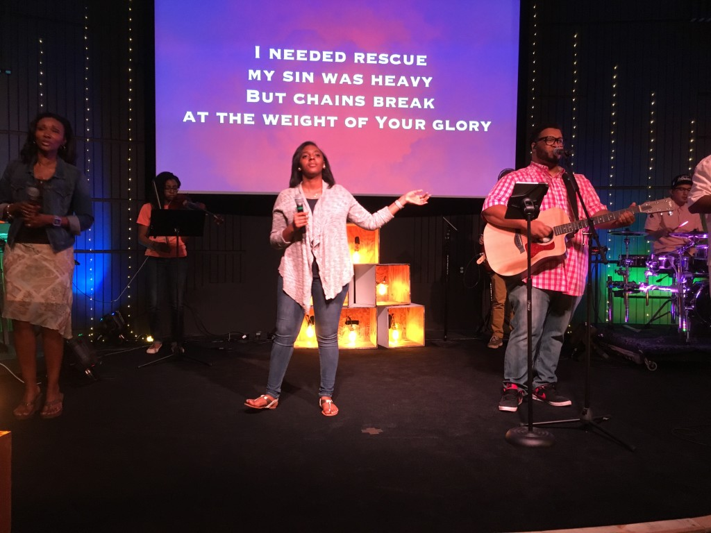 As always, it's strong worship that ushers in His Presence - which is far more important than any movie!