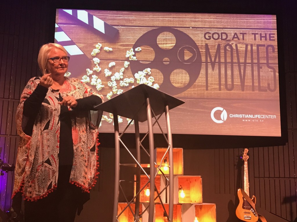 "My wife preached from the movie, ""The Shack"" today at our Hammond campus - lots of tears; lots of emotional healing around the altar there!"