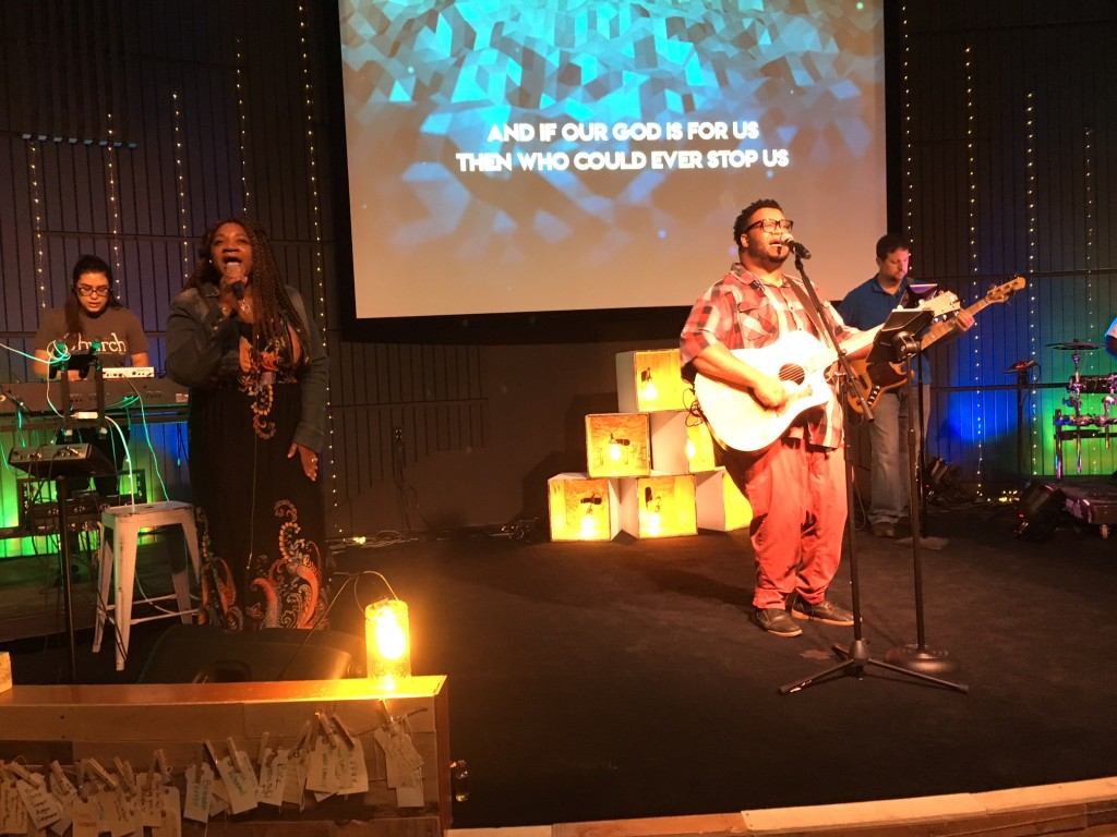 Our Hammond worship team was ON POINT today!