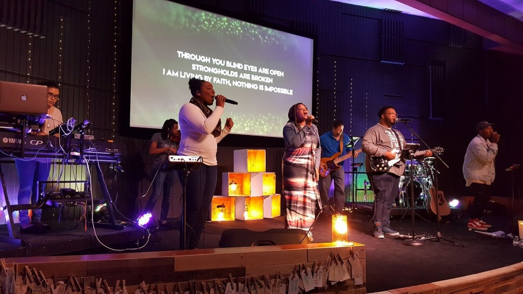 Worship was good at our Hammond campus (as always!)